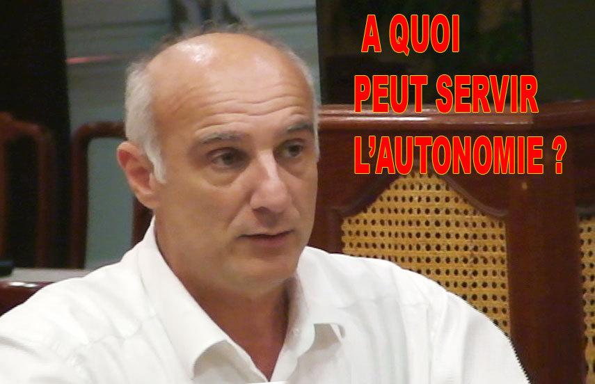 Alain Bénard : La centralisation est le frein au développement de La Réunion