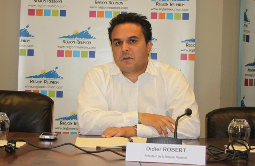 Didier Robert demande à l'Etat le même quota de contrats aidés qu'en 2012