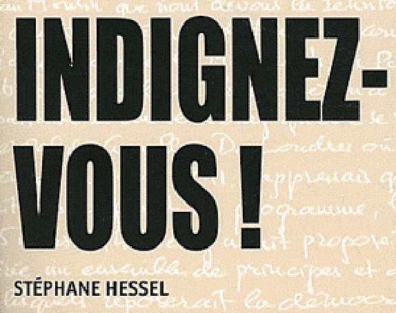 Les indignés 974 rendent hommage à Stéphane Hessel !