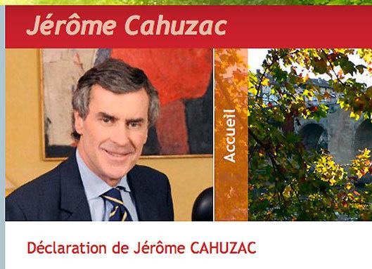 """Jérôme Cahuzac : """"J'ai été pris dans une spirale du mensonge…"""""""
