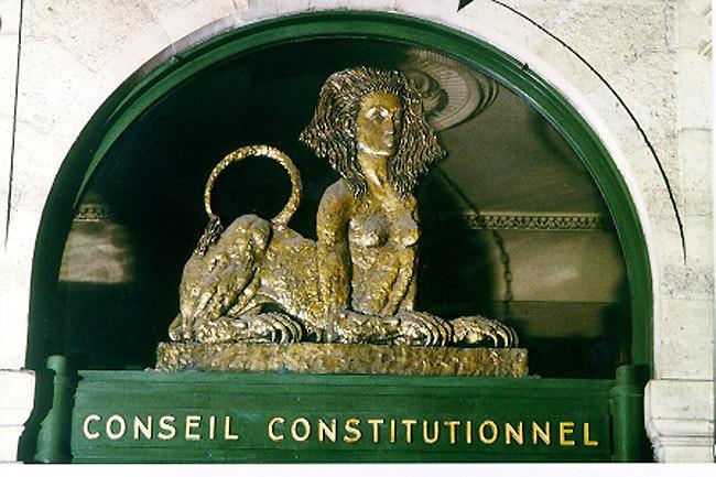 La décision du Conseil constitutionnel