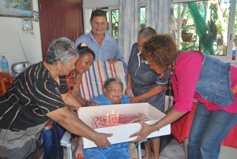 101 ans pour Cécile Gado