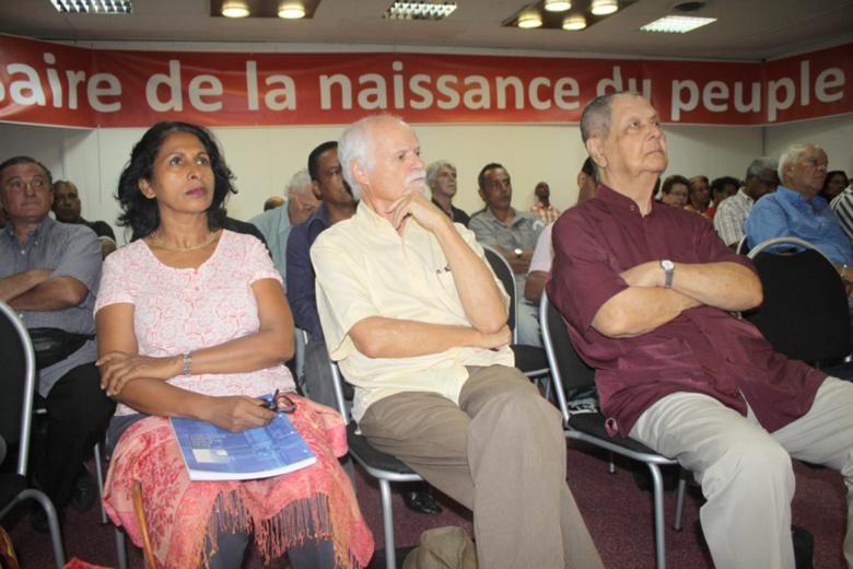 Municipales 2014 : Gélita Hoarau, future sénatrice, candidate PCR à Saint-André