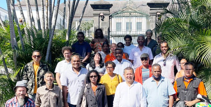 La liste du Projet Réunionnais