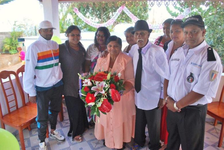 Les époux Apaya fêtent leur 55 ans de mariage