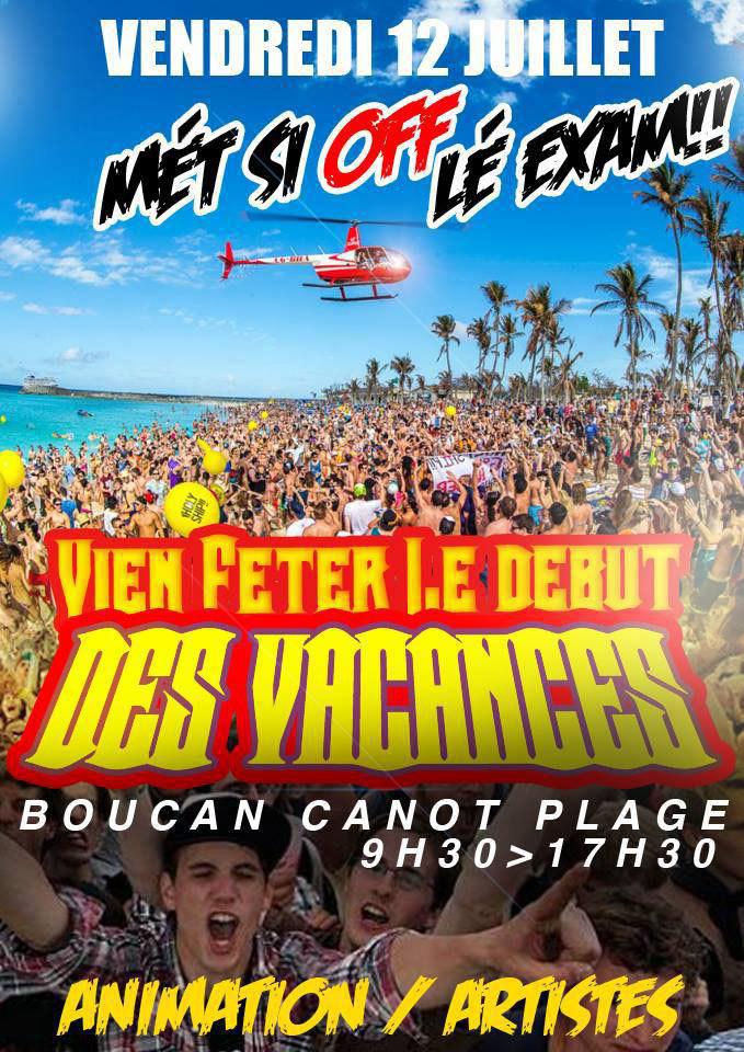 Demain, les diplômés ont rendez-vous à Boucan-Canot