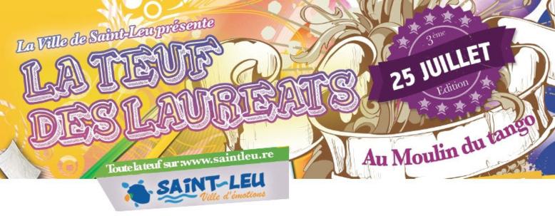 Saint-Leu : 3e édition de la Teuf des lauréats