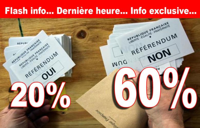 Référendum : tous les résultats