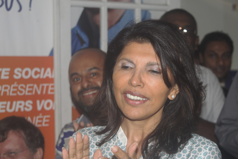 Tout a été fait pour que Nassimah Dindar soit candidate et tête de liste aux Municipales 2014 à St-Denis
