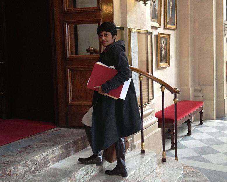 """Ericka Baeigts écrit à François Hollande, sa préférence """"pour un ambassadeur réunionnais"""""""