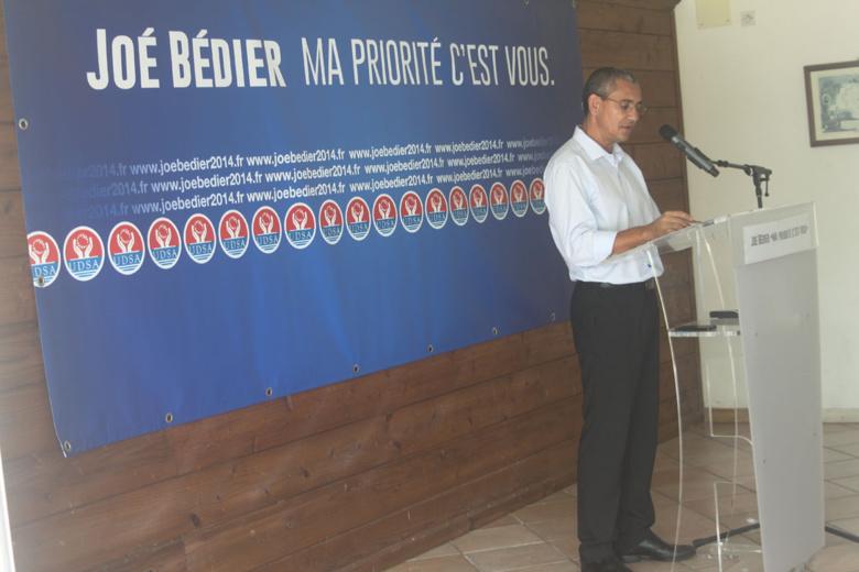 Joé Bédier relance le PCR et les Municipales 2014 à Saint-André
