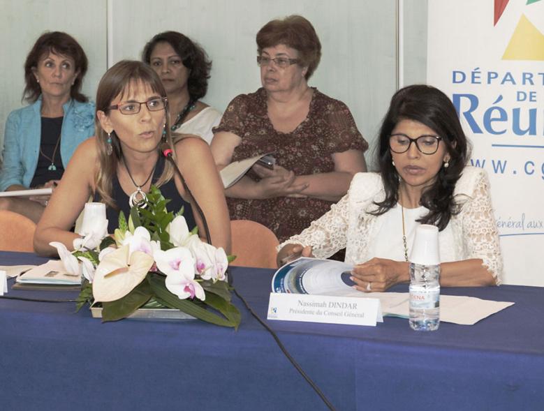 """Nassimah Dindar : """"La précarité ne relève pas que du Conseil général"""""""