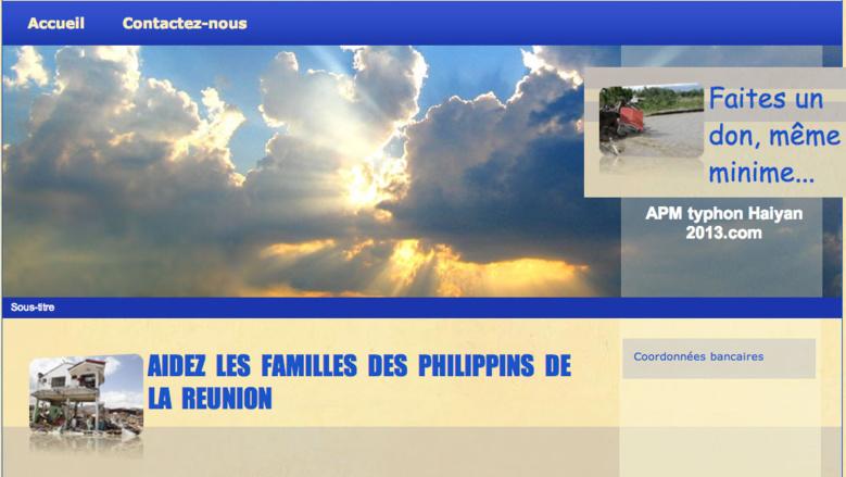Vous pouvez aider les familles touchées par le typhon Haiyan aux Philippines.