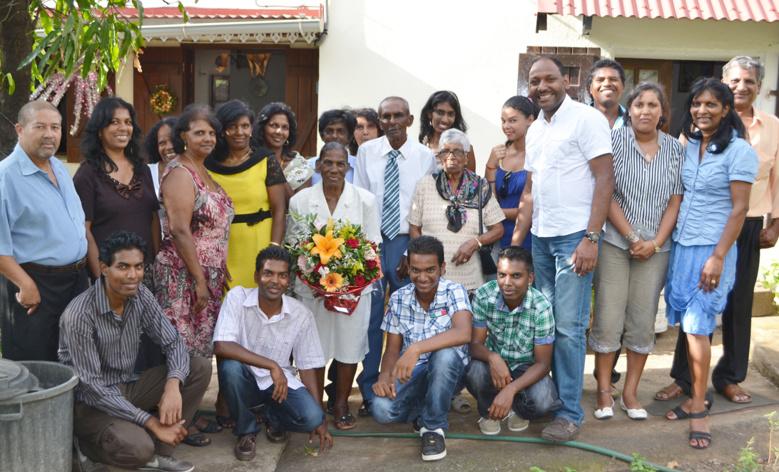 55 ans de mariage pour les époux Ramsaminaïck