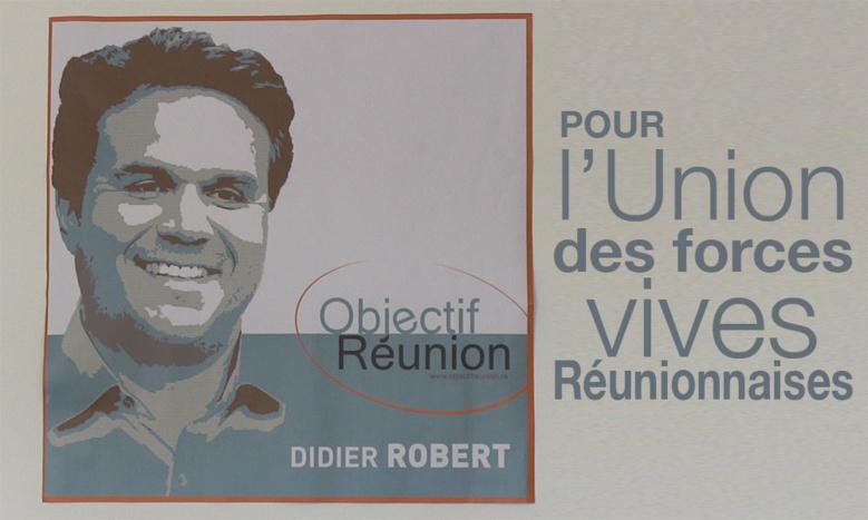 Didier Robert lance l'appel à l'union de la Droite pour les  élections qui vont suivre