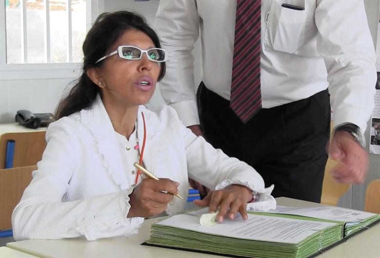 Mise en examen en guise d'étrennes pour Nassimah Dindar