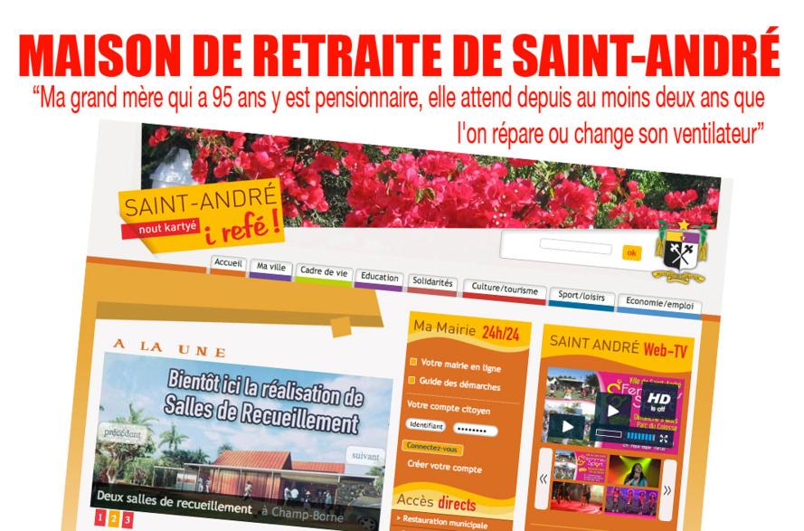 Saint-André : Les pensionnaires de la maison de retraite subissent le manque d'intérêt de la mairie