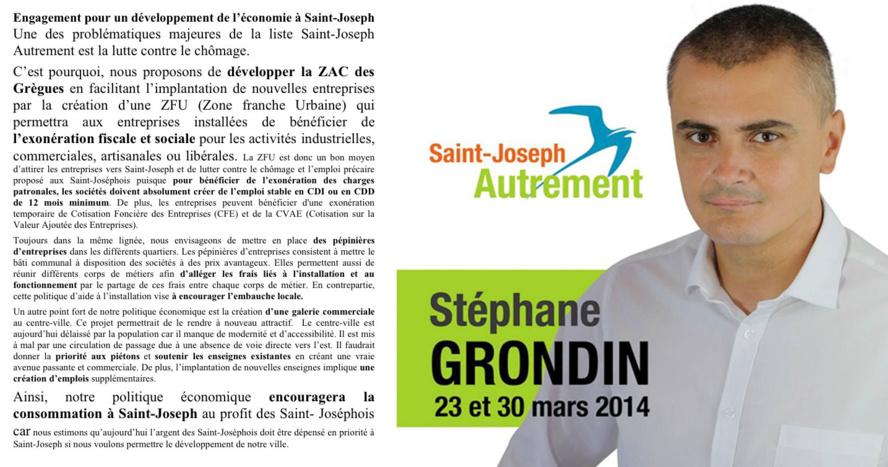 Développement économique avec Saint-Joseph Autrement