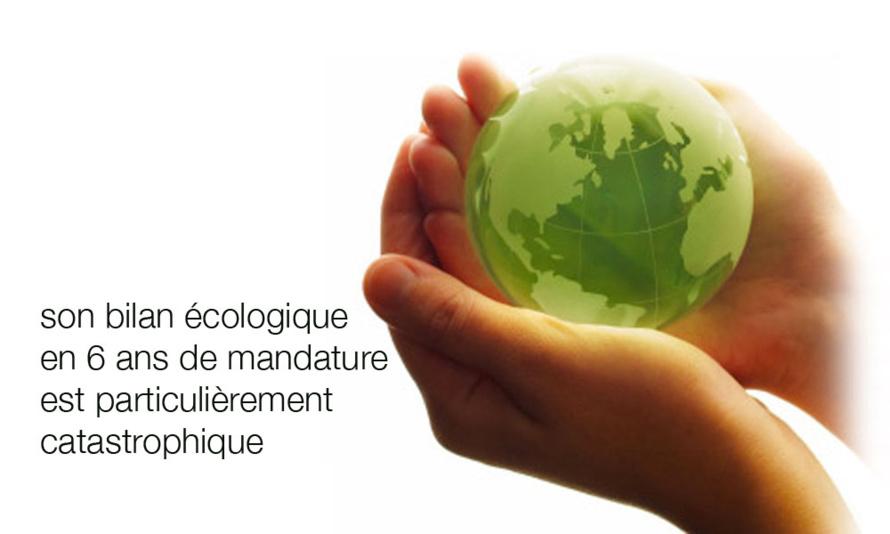 Je suis écologiste et le 30 mars je ne voterai pas Huguette Bello
