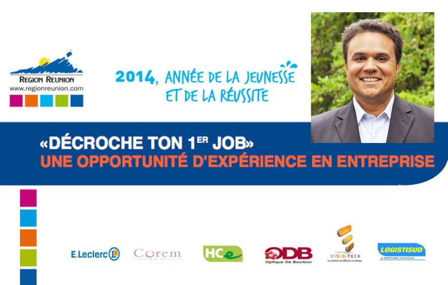 Avec Didier Robert : «DÉCROCHE TON 1er JOB»