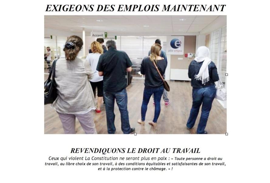 JOURNEE MONDIALE DES INDIGNES 15 OCTOBRE : EXIGEONS DES EMPLOIS DURABLES