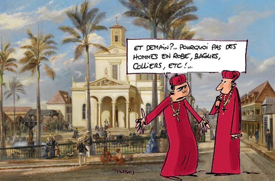 Peut-on enseigner le Christianisme à La Réunion et avoir des propos et des comportements racistes?