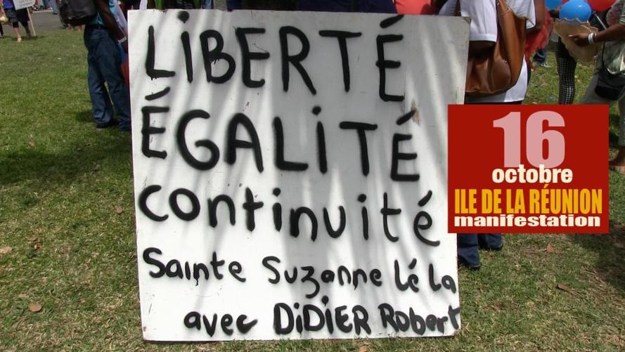Aline Murin Hoarau : Sainte Suzanne se mobilise pour la Liberté