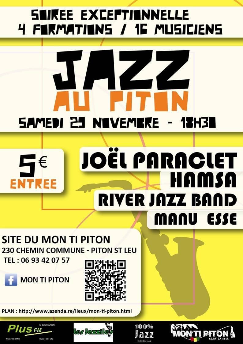Joël Paraclet Hamsa River Jazz Band Manu Esse