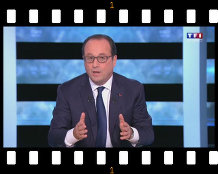 François Hollande reconnait des erreurs et persiste dans les promesses, il ne démissionne pas