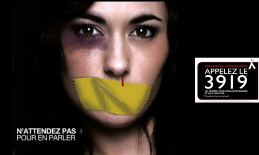 Le 25 novembre : Dites Non aux violences faites aux femmes