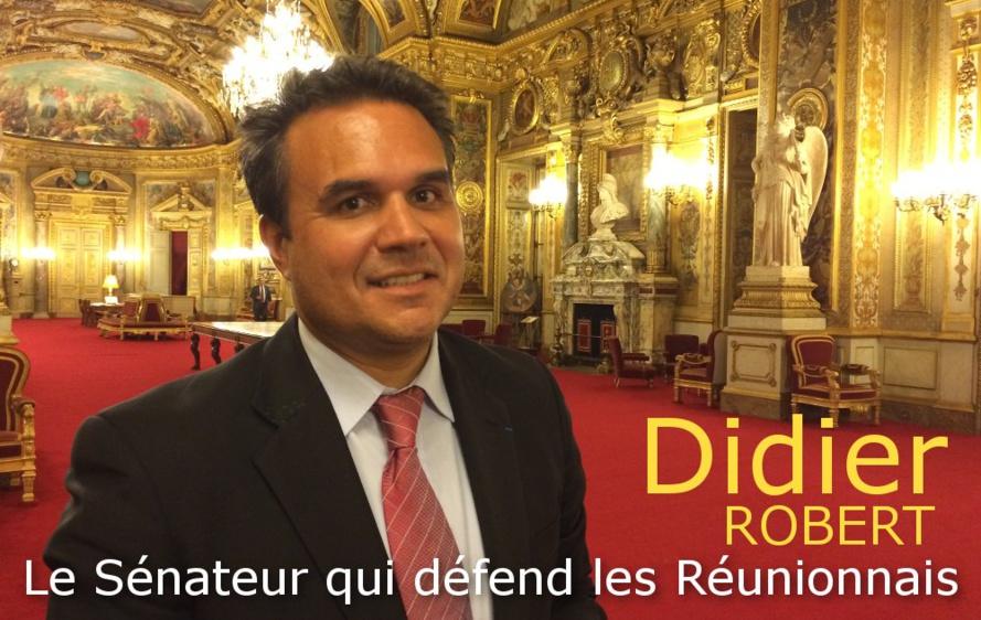 """Didier Robert : """"Que les Réunionnais soient considérés comme des Français à part entière"""""""