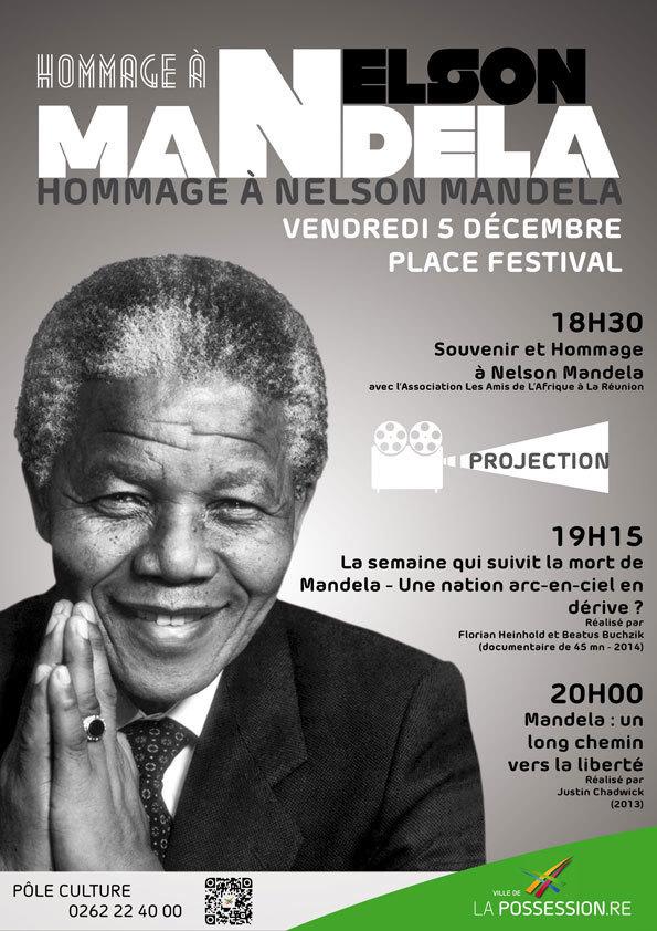 Vanessa Miranville rend hommage à Madiba
