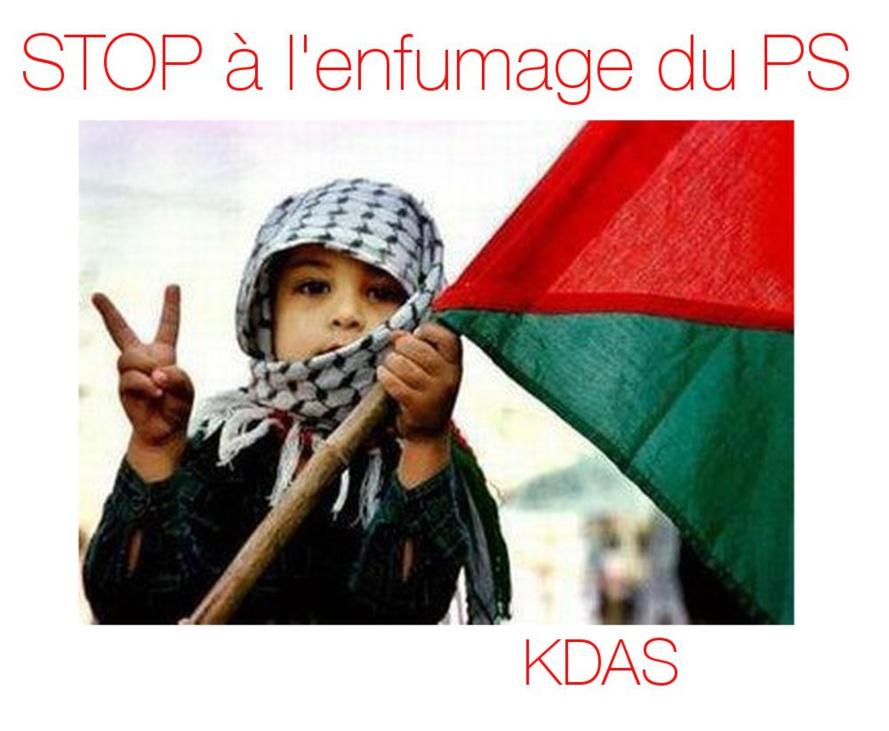 Les pro-sioniste du PS et du gouvernement amusent le peuple et se font plaisir sur le dos des martyrs Palestiniens