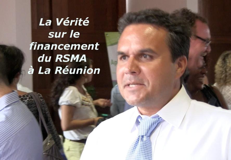 La Vérité sur le financement du RSMA à La Réunion
