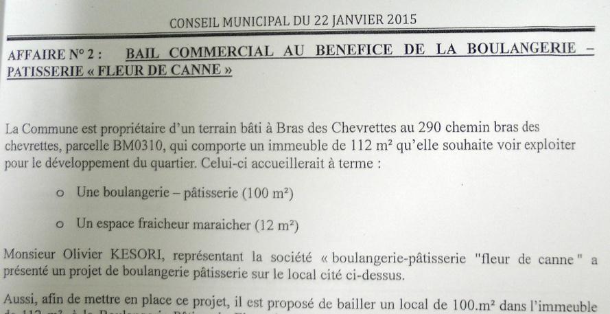 Saint-André : de la continuité des dossiers de l'ancienne majorité !