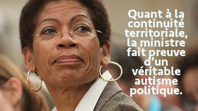 Visite ministérielle de Madame Pau-Langevin, la continuité républicaine mise à mal