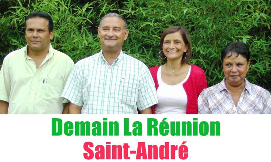 Nativel et Panon à Saint-André pour Demain La Réunion