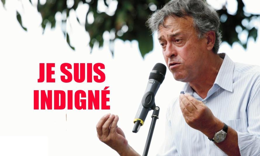 Mario Lechat : Indigné de l'agression de M. Rico Floriant
