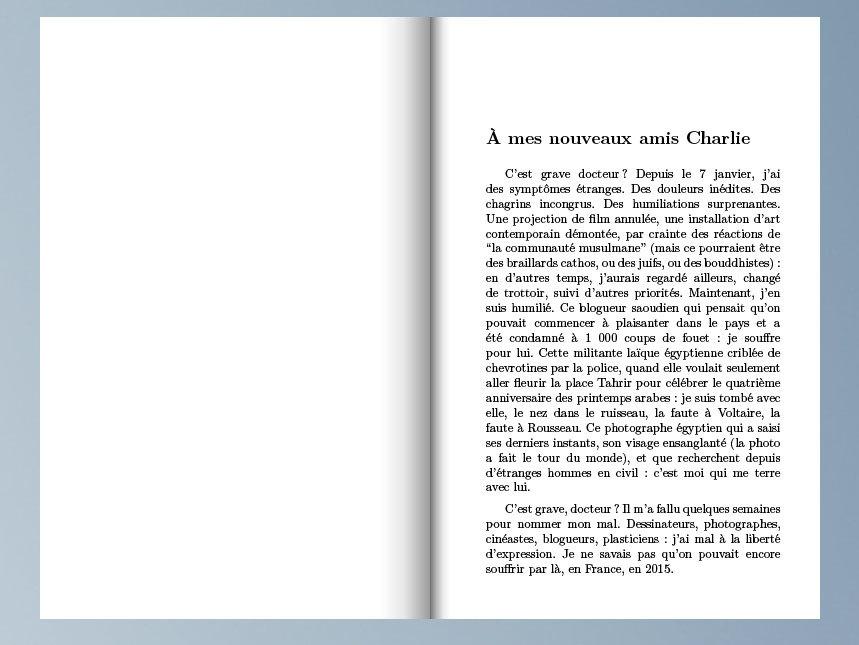 """""""On n'a pas fini de rire"""" : lisez notre livre de l'après Charlie"""