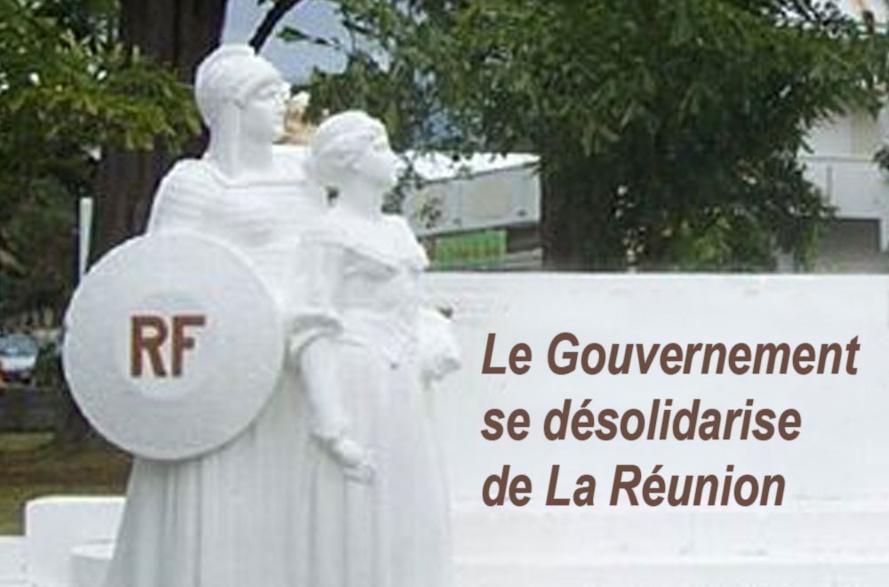 Le Gouvernement se désolidarise de La Réunion