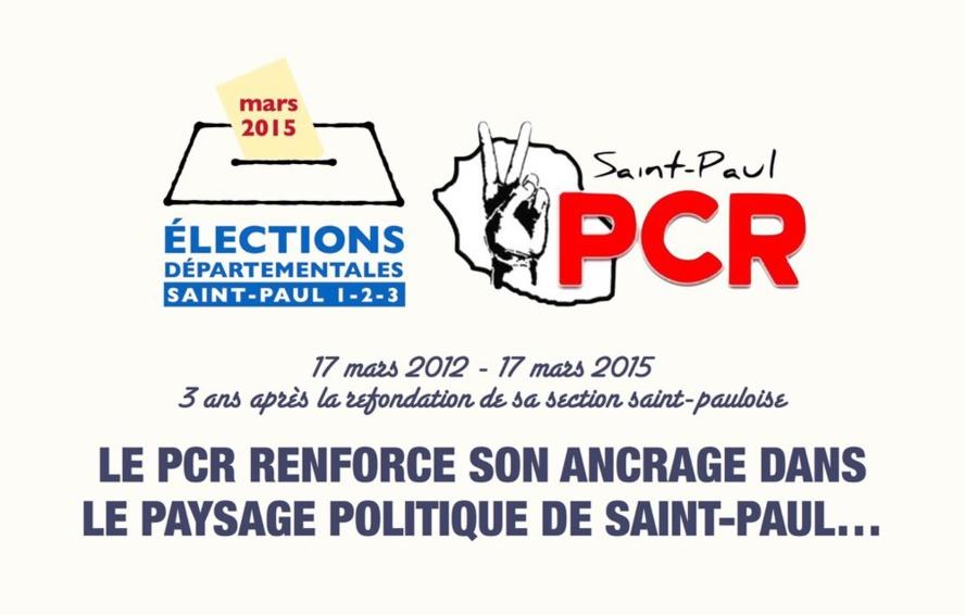 Le PCR renforce son ancrage politique à Saint-Paul