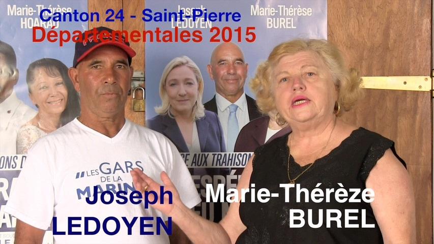 Joseph et Marie-Thérèse fiers des électeurs