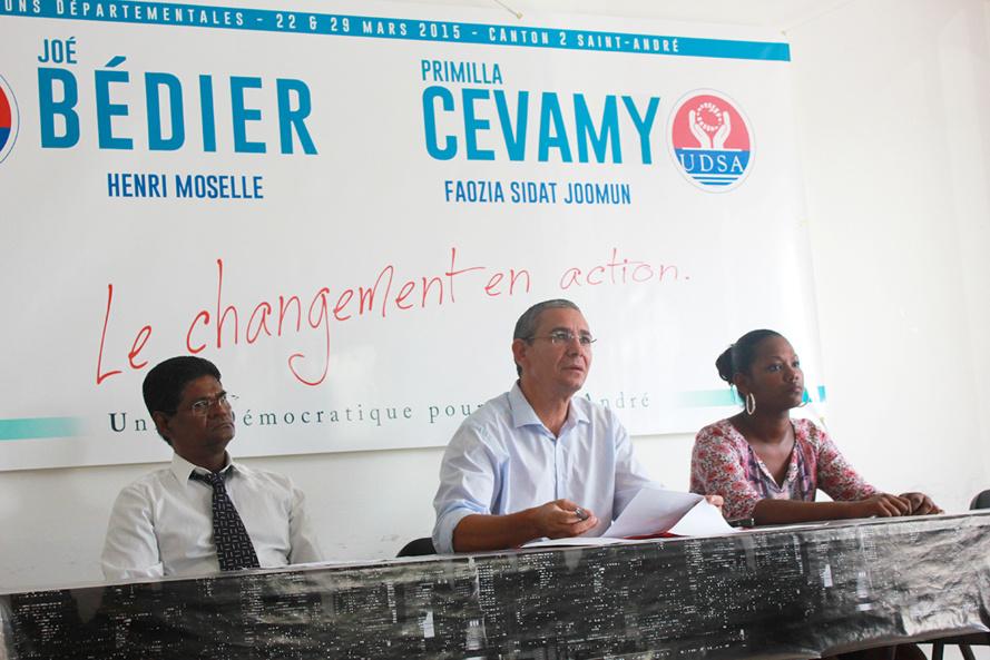 UDSA : La première force d'opposition de Saint-André