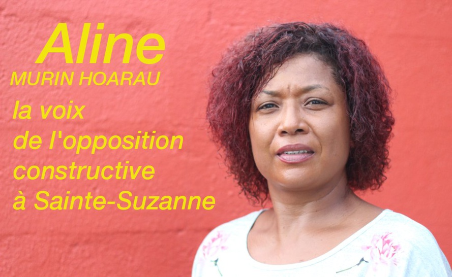 Aline Murin Hoarau : L'opposition constructive de Sainte-Suzanne