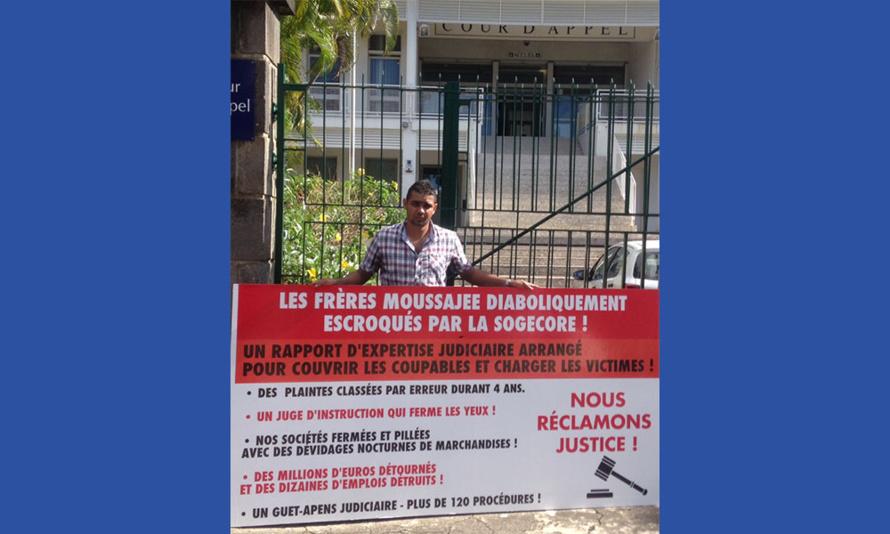 Affaire Moussajee : Nous sommes enfin convoqués devant la Chambre de l'Instruction le 21 Juillet à 9h