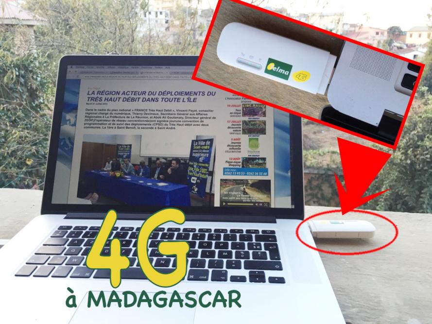 La 4G une réalité… à Madagascar