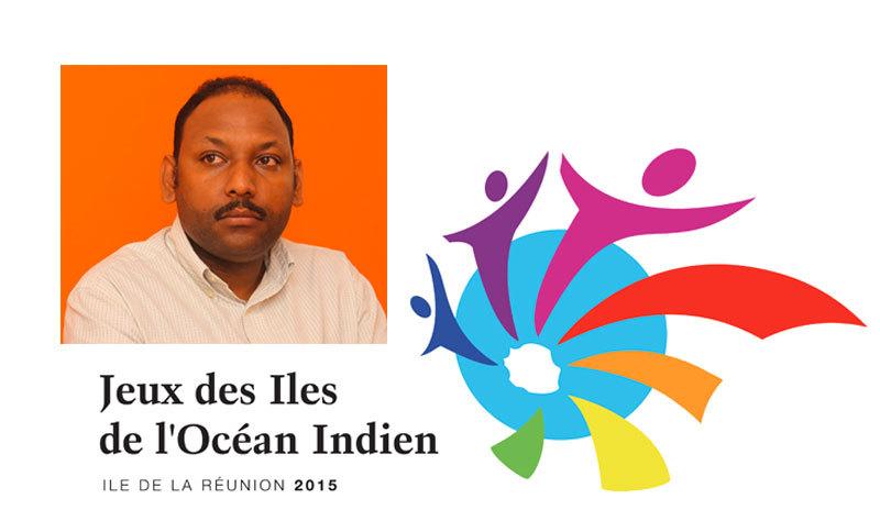 Thierry Robert et les Jeux des Iles de l'Océan Indien