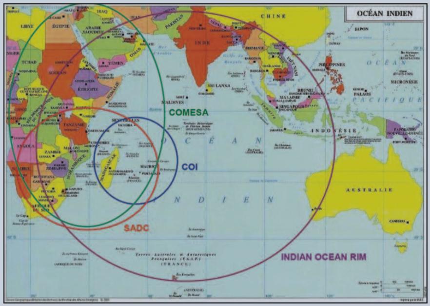PRIE : Les priorités géographiques