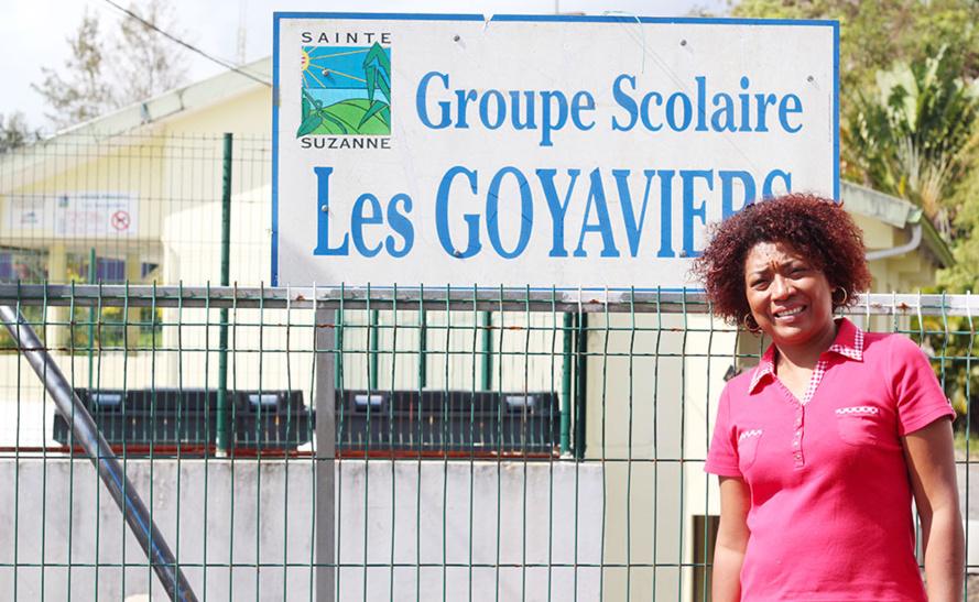 L'École des Goyaviers à Bras-Pistolet