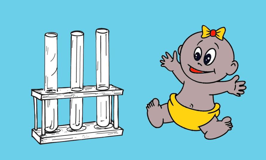 Le flaperon de Saint-André et le bébé-éprouvette